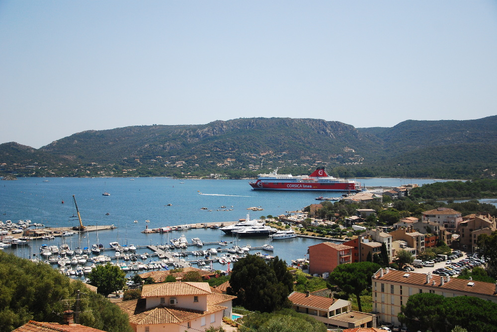 Port de Porto-Vecchio en Corse du sud