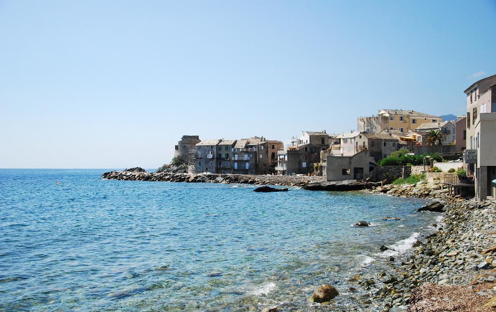 Village d'Erbalunga dans le Cap Corse