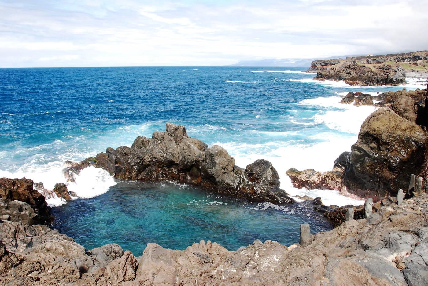 Le Charco de la Laja, une piscine naturelle à Tenerife