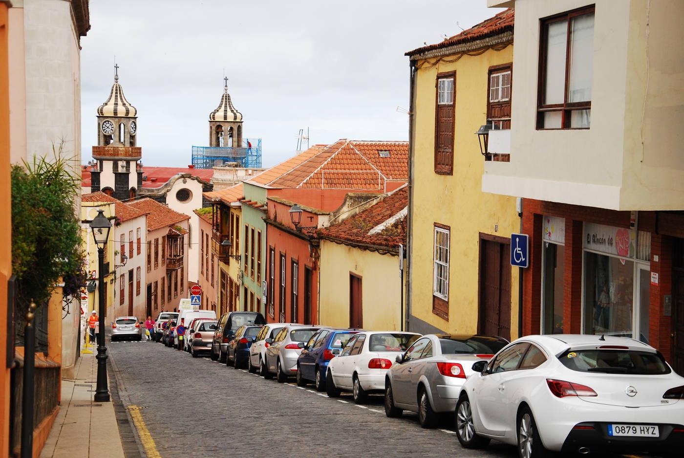 Village de La Orotava à Tenerife