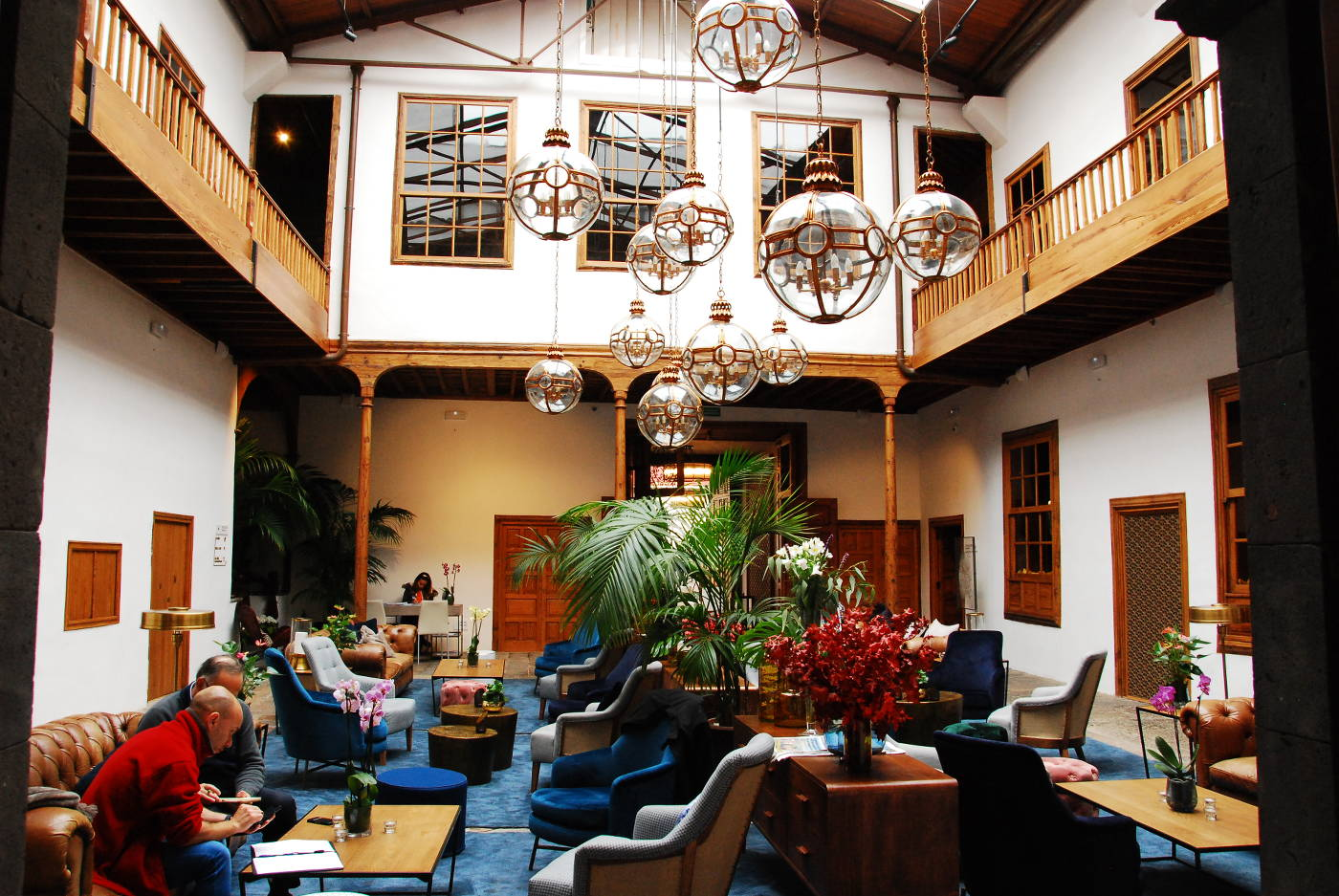 Hall de La Laguna Gran Hotel à Tenerife