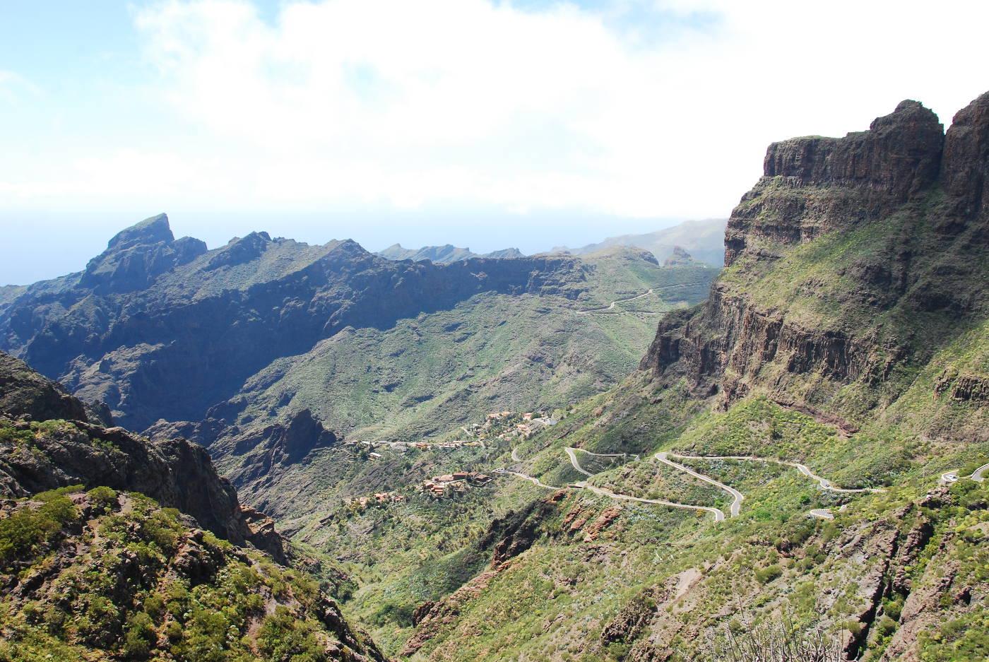 Le Village de Masca niché dans les montagnes de Tenerife