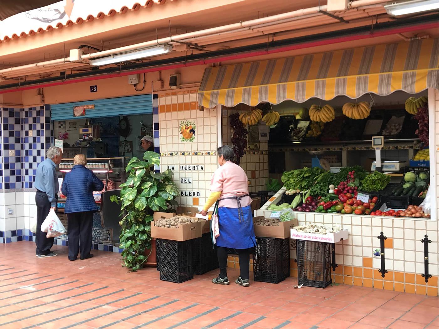 Visite du Mercado de Nuestra Senora de Africa à Santa Cruz de Tenerife