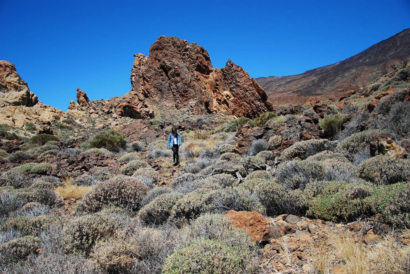 Randonnée Roques de Garcia dans le parc naturel de El Teide à Tenerife
