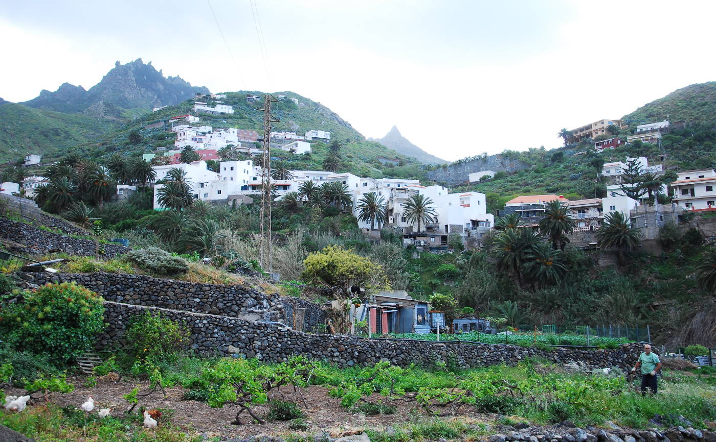 Le village de Taganana, à Tenerife