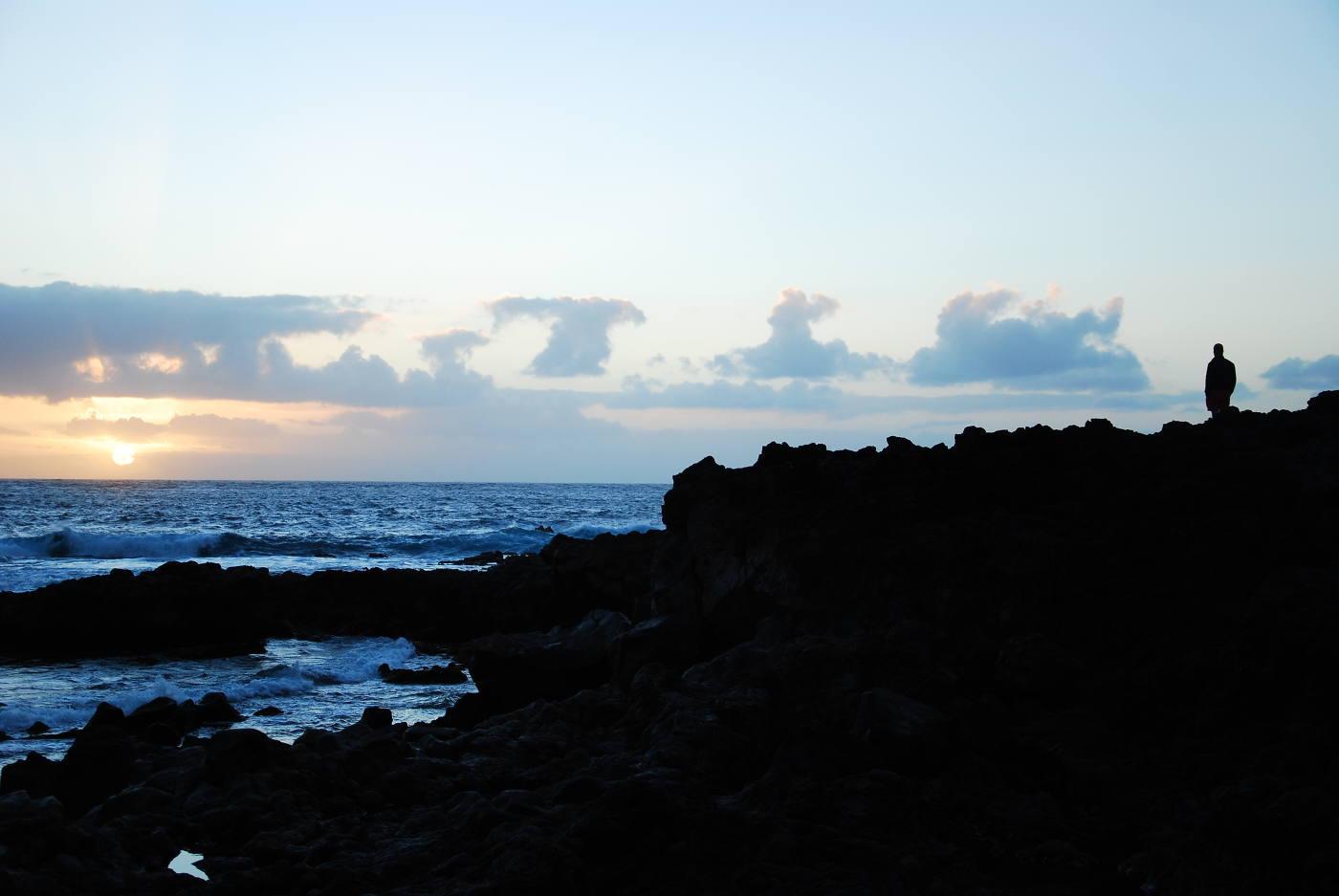 Coucher de soleil à Punta de Teno
