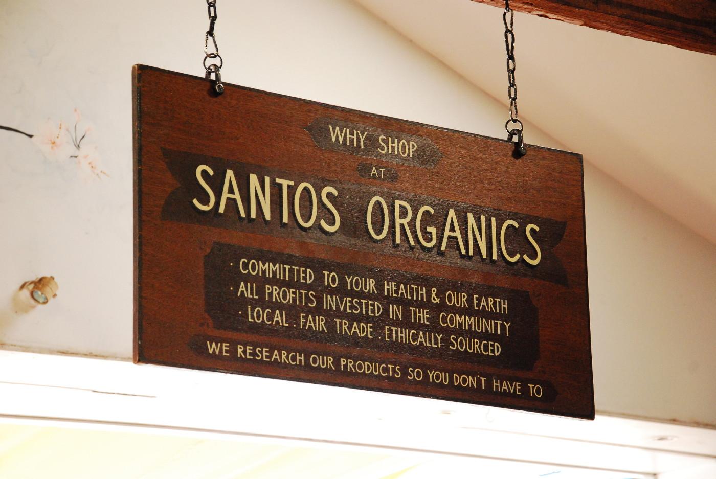 Santos Organicspancarte