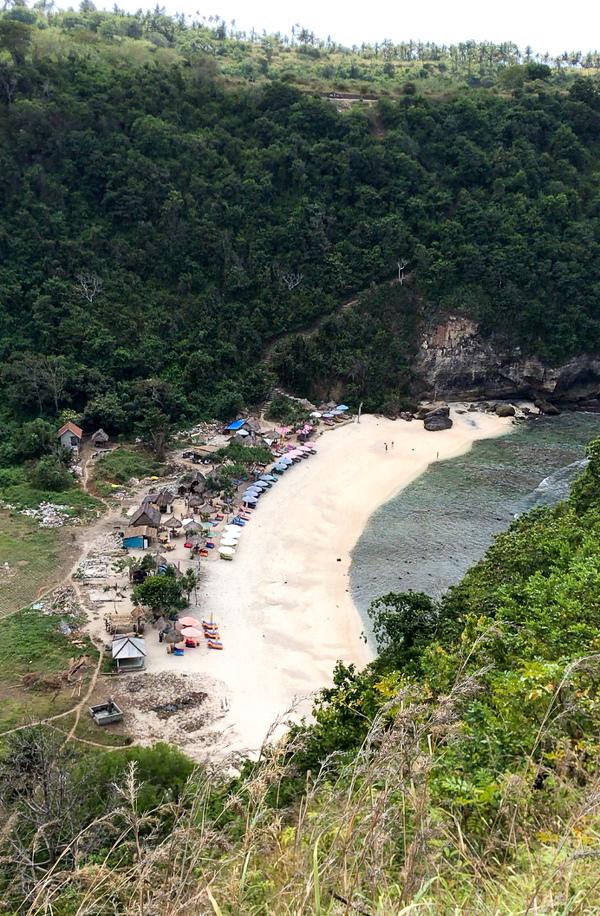 Atuh Beach à Nusa Penida