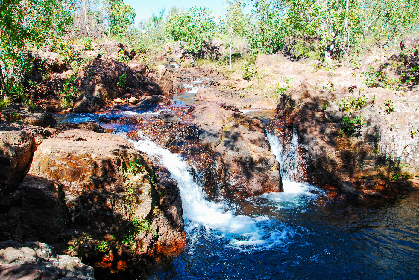 Buley Rockholes du Litchfield National Park