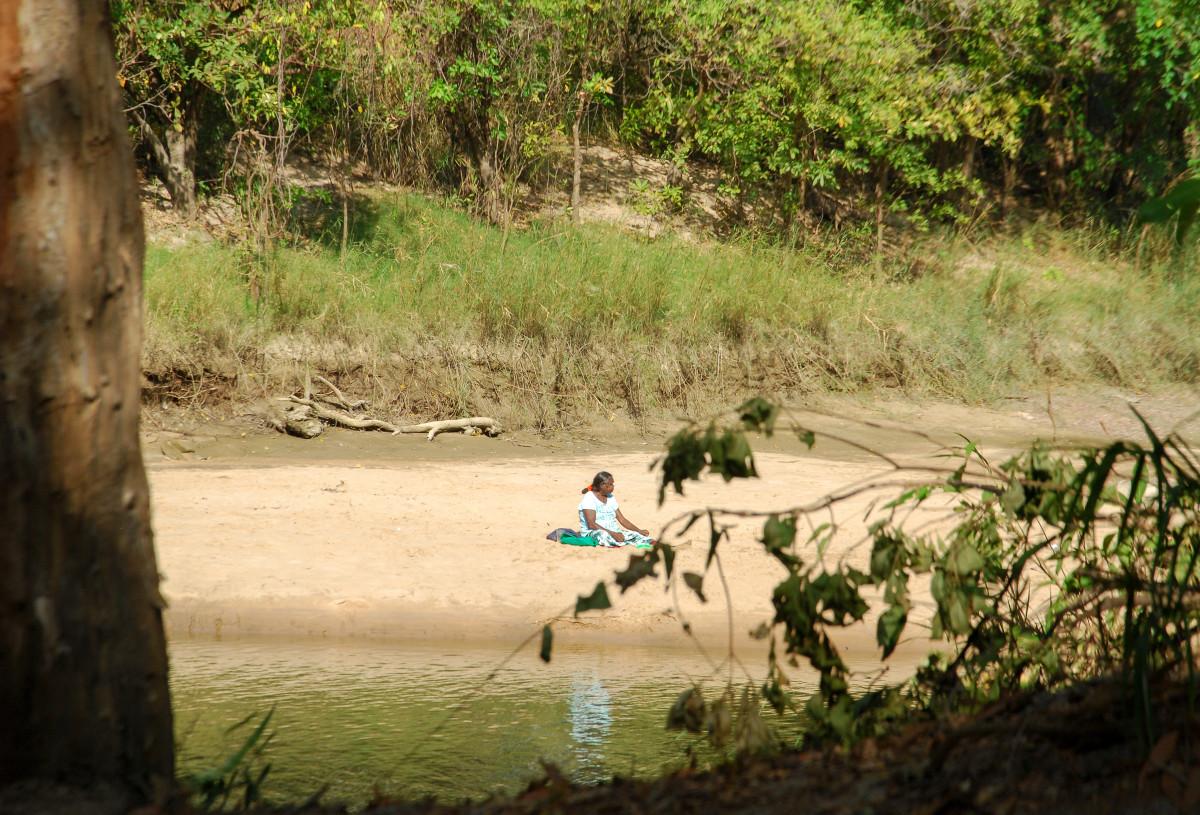 Le dangereux Cahill's Crossing dans le parc national de Kakadu
