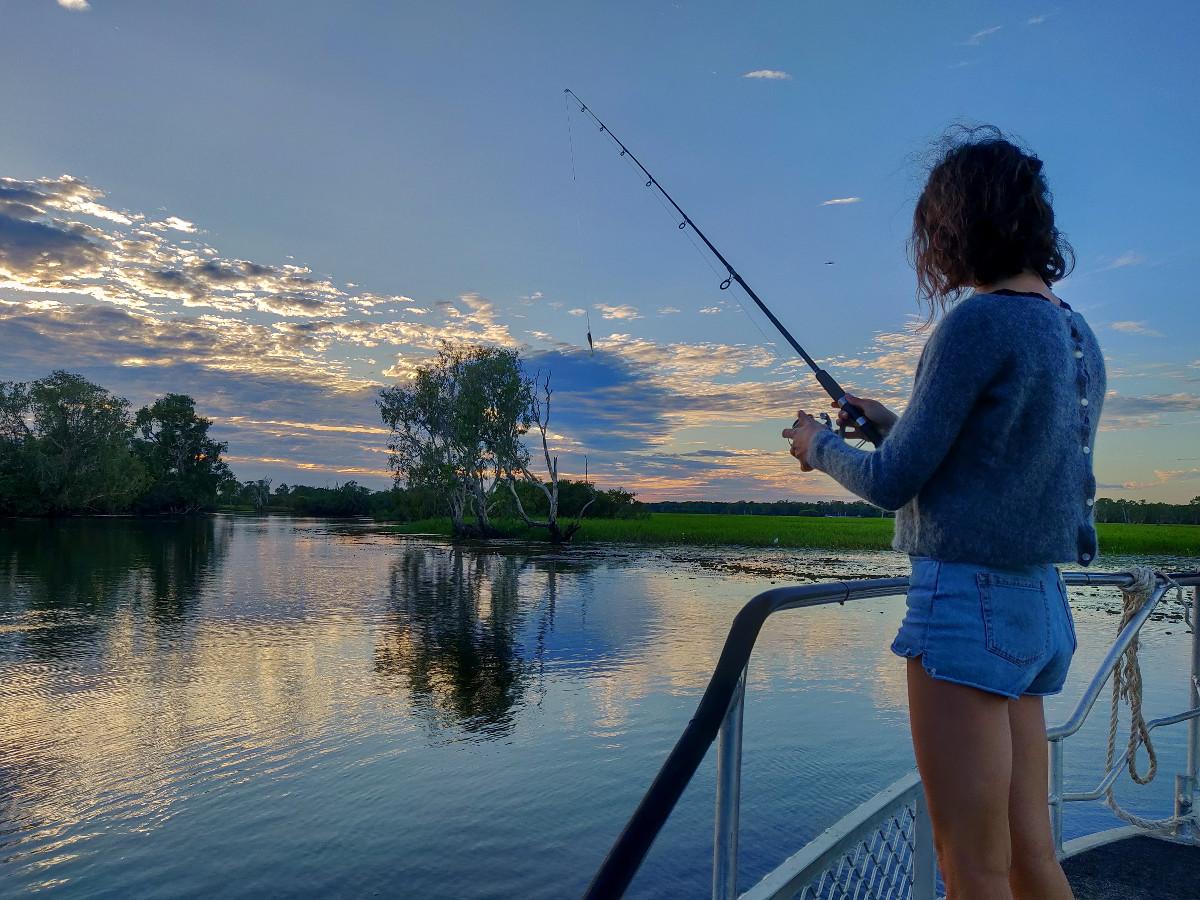 Fishing trip sur le Yellow River Billabong dans le Kakadu National Park