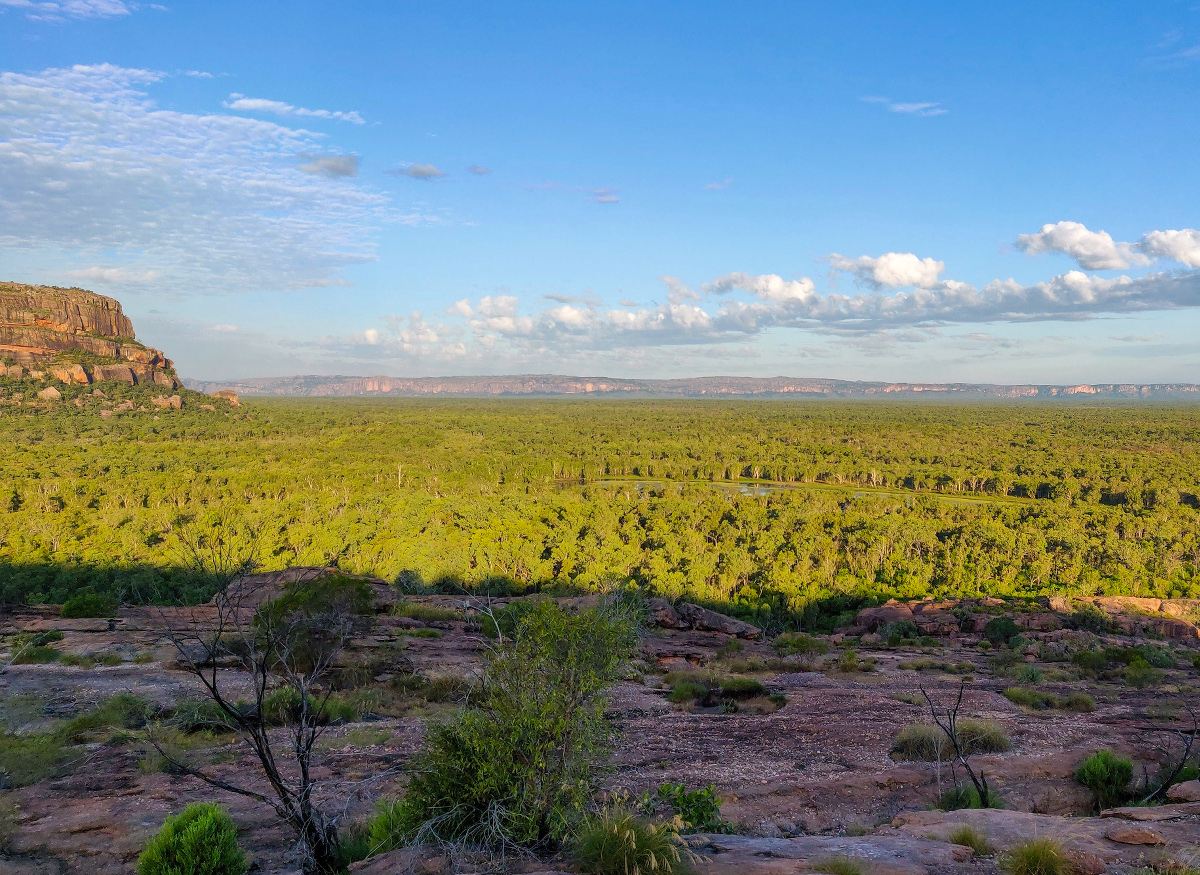 Nawurlandja Lookout dans le Kakadu National Park