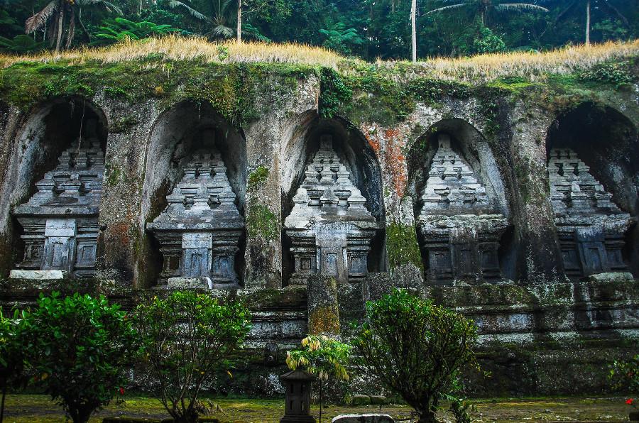Temple Gunung Kawi d'Ubud à Bali