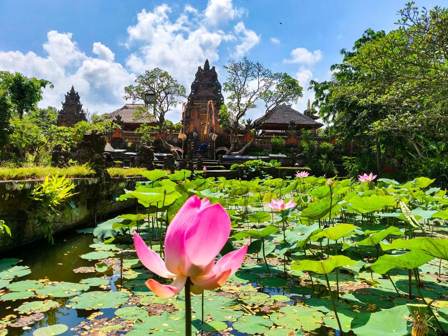 Que faire à Ubud : le Temple Saraswati