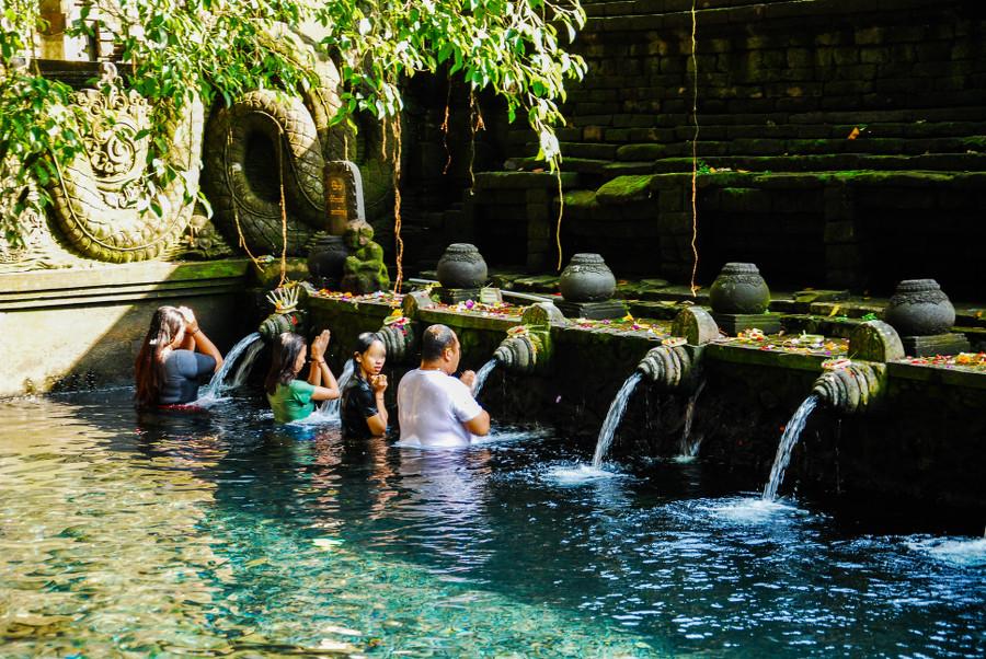 Temple de Tirta Empul Bali