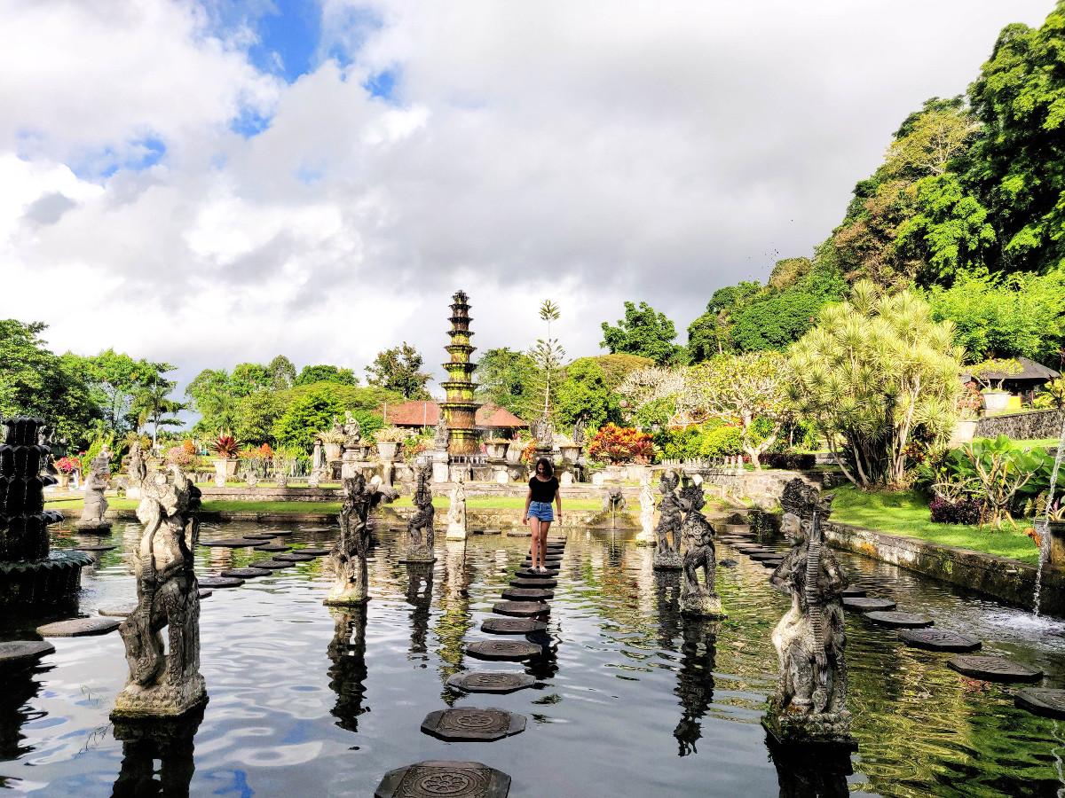 Que faire à Amed : visite du Temple Tirta Gangga Bali